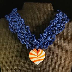 Jewelry - Murano Heart Choker